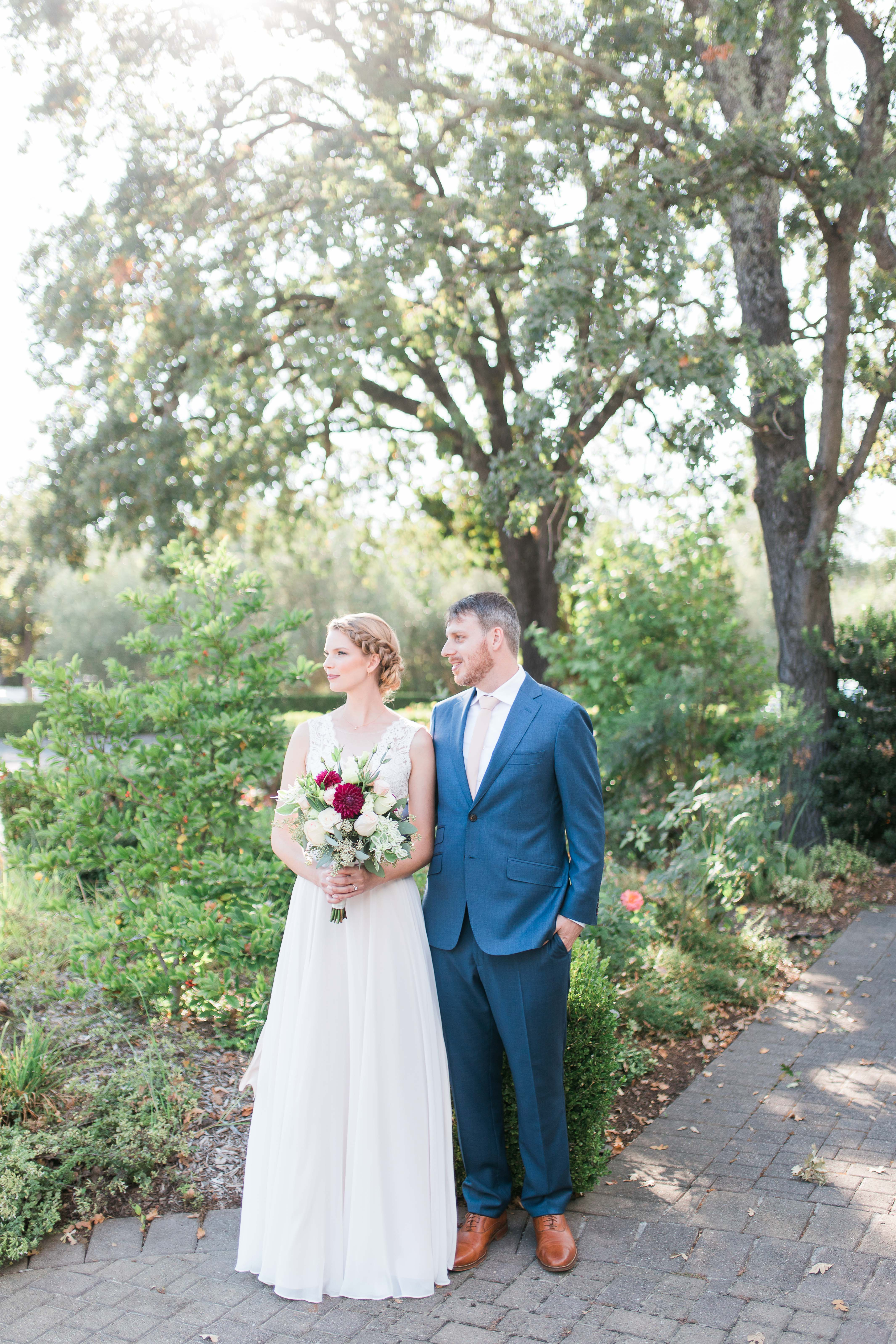 Bright and Creamy Blush Wedding