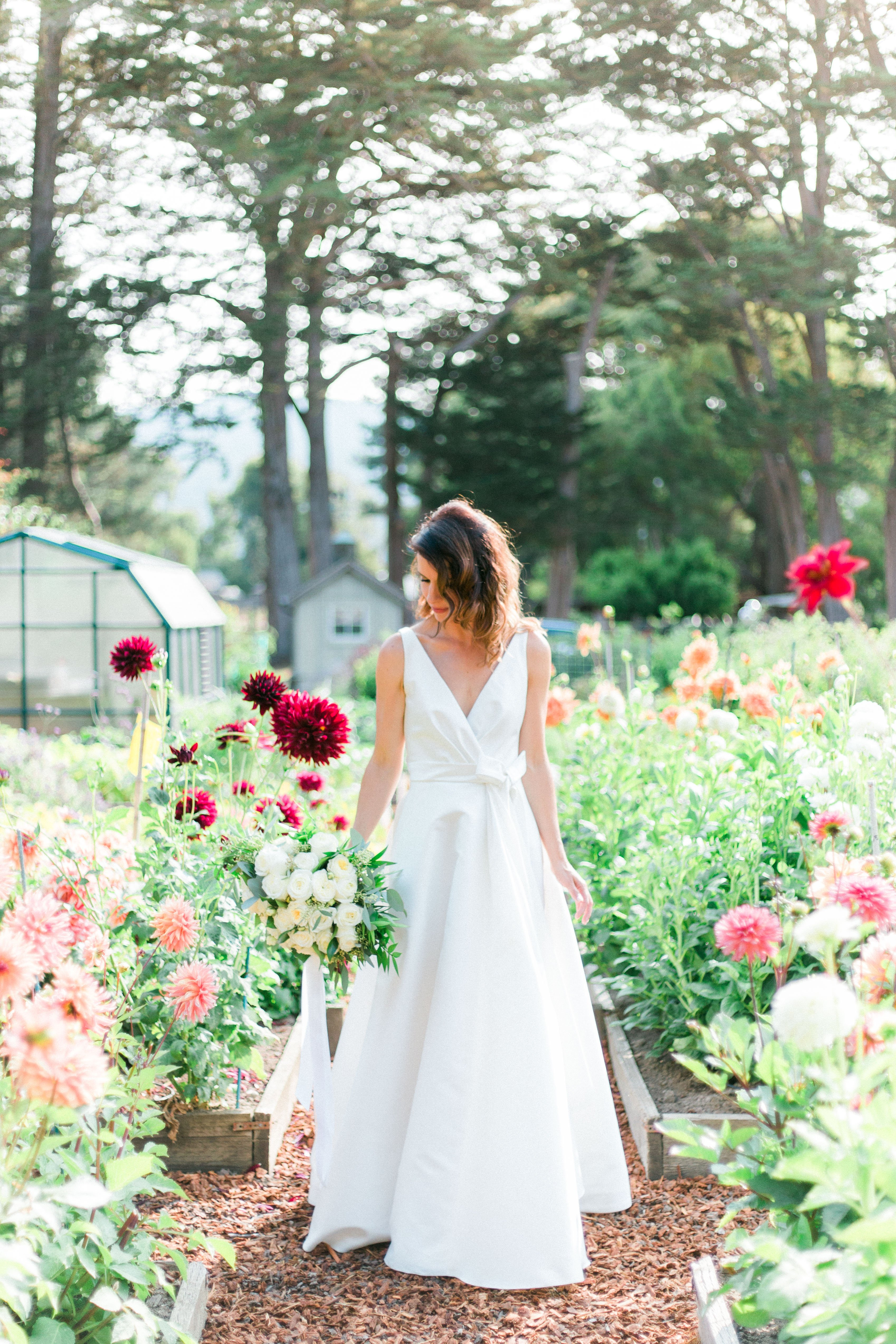 Natural, Garden Wedding